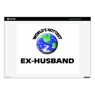 World s Hottest Ex-Husband Decals For Laptops
