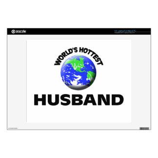 World s Hottest Husband Skin For Laptop