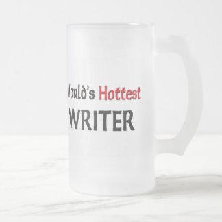 World s Hottest Writer Coffee Mug