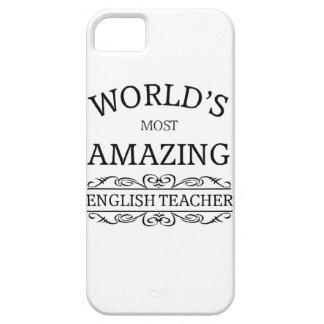 World s most amazing english teacher iPhone 5 case