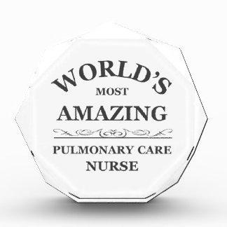 World s most amazing Pulmonary Nurse Award