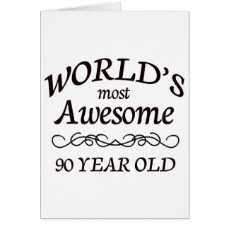 World s Most Awesome 90 Year Old Cards