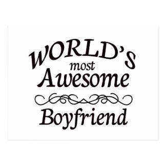 World s Most Awesome Boyfriend Postcards