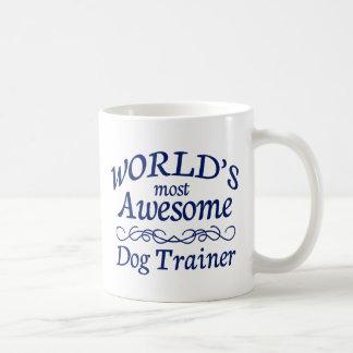 World s Most Awesome Dog Trainer Coffee Mug