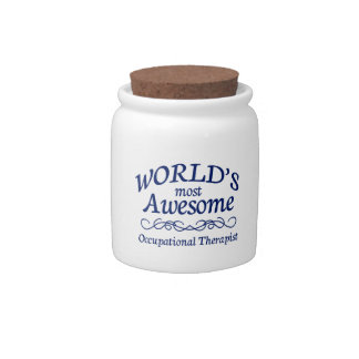 World s Most Awesome Occupational Therapist Candy Jar