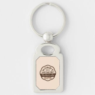 World s Most Fascinating 70-Year-Old Brown Peach Key Chains