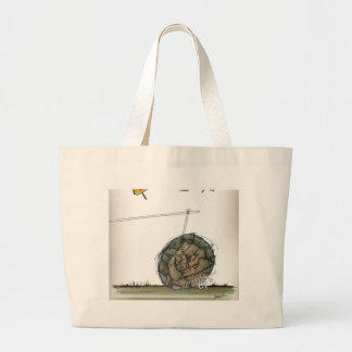world's oldest football large tote bag
