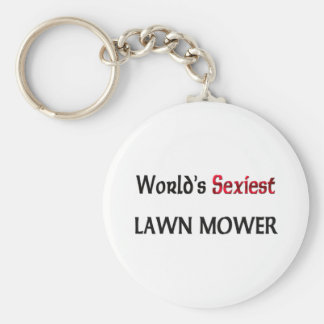 World s Sexiest Lawn Mower Key Chains