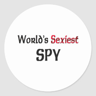 World s Sexiest Spy Sticker
