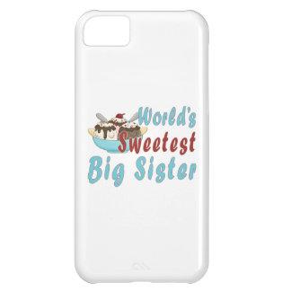 World s Sweetest Big Sis Sundae 2 iPhone 5C Covers