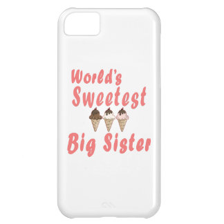 World s Sweetest Big Sister Ice Cream Cones iPhone 5C Covers