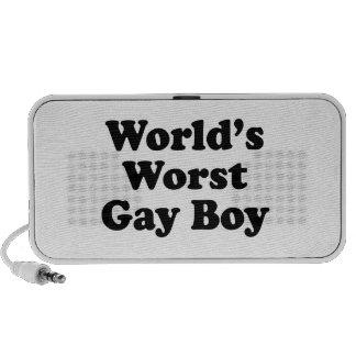 World s Worst Gay Boy iPhone Speaker