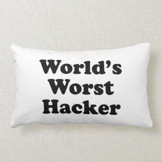 World s Worst Hacker Pillows
