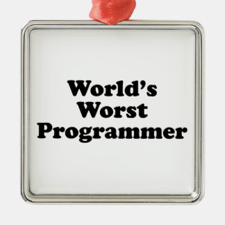 World s Worst Programmer Ornament