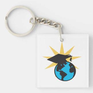 World Scholar 2 Keychain