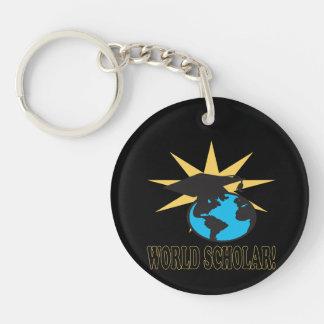 World Scholar 3 Keychain