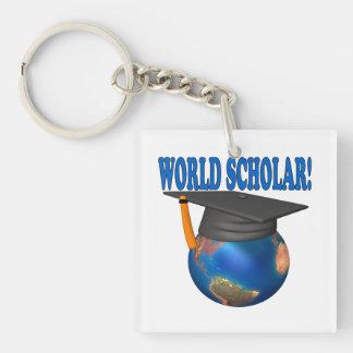 World Scholar 4 Keychain