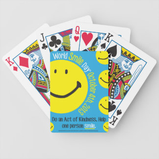 World Smile Day 2013 Poster Playing Card