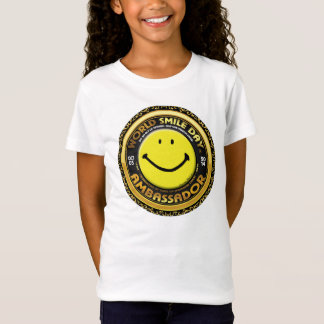 World Smile Day® 2014 Ambassador Girls Shirt