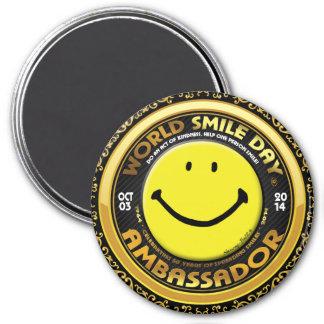 World Smile Day® 2014 Magnet