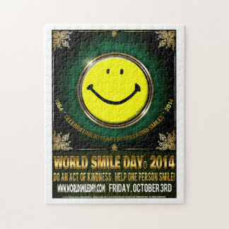 World Smile Day® 2014 Poster Puzzle - large