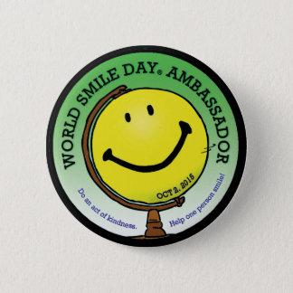 World Smile Day® 2015 Ambassador Button