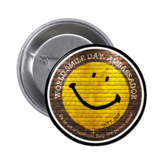 World Smile Day® 2016 Button