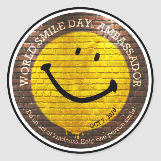 World Smile Day® 2016 Stickers