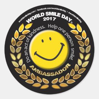 World Smile Day Ambassador 2017 Sticker