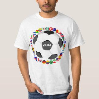 World Soccer All Team Flag T-Shirt