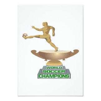 World Soccer Champions Card