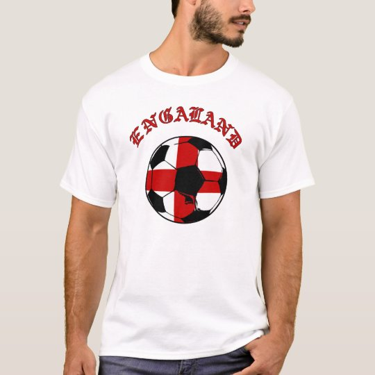 World Soccer - England flag football ball gift T-Shirt