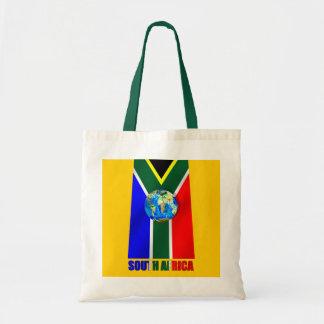 World Soccer South Africa Soccer ball globe Bags