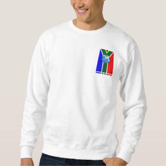 World Soccer South Africa Soccer ball globe Sweatshirt