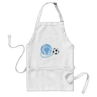 World Soccer T shirts and Gifts Adult Apron