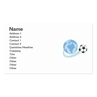World Soccer T shirts and Gifts Double-Sided Standard Business Cards (Pack Of 100)