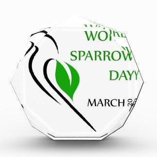 World sparrow day March 20 Award
