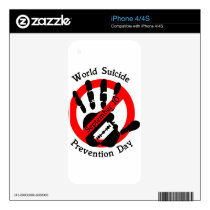 World-suicide-prevention-day Decal For The iPhone 4S