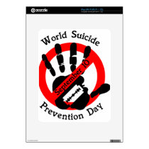 World-suicide-prevention-day Decals For iPad