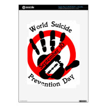 World-suicide-prevention-day iPad 3 Skin