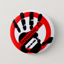World-suicide-prevention-day Pinback Button