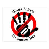 World-suicide-prevention-day Postcard