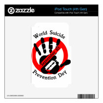 World-suicide-prevention-day Skins For iPod Touch 4G