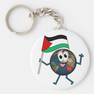 World supports Palestinian Statehood Key Chains