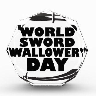 World Sword Swallower's Day - Appreciation Day Award