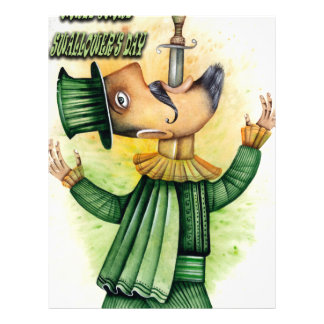 World Sword Swallower's Day - Appreciation Day Letterhead
