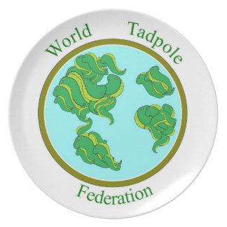World Tadpole Federation Plate