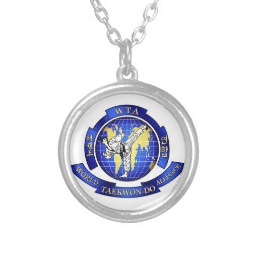 World Taekwon-Do Alliance Personalized Necklace