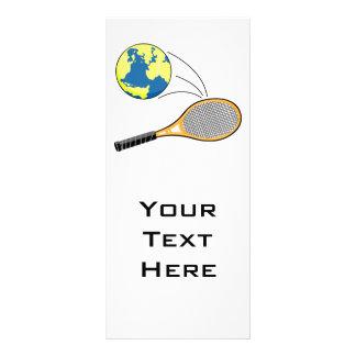 world tennis sports design rack card
