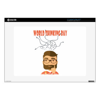 World Thinking Day - Appreciation Day Decals For Laptops